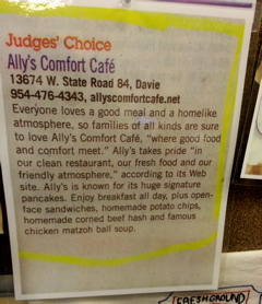 Sixth gallery image of allyscomfortcafe